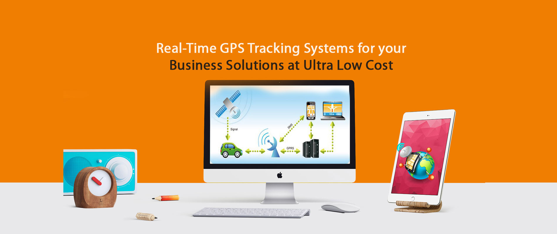 Real-Time GPS Tracking Systems for your Business Solutions